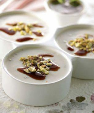 Crème Cuite au Mastiha de Chios et aux Pistaches